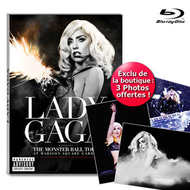 Blu Ray Lady Gaga The Monsterball Tour