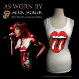 Box Set As Worn By Debardeur Vintage Licks Mick Jagger