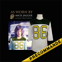 Box Set As Worn By(tm) Mick Jagger 86 Football Jersey