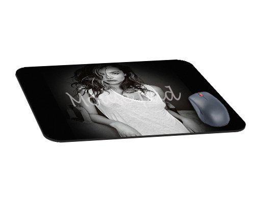 Bureau rectangle tapis de souris avec miranda kerr home sexy