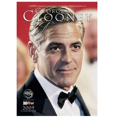 Calendrier 2009 George Clooney