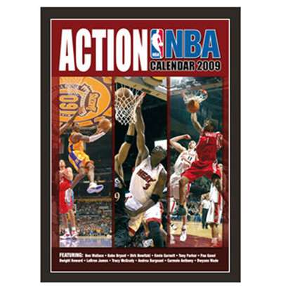Calendrier 2009 Nba Action