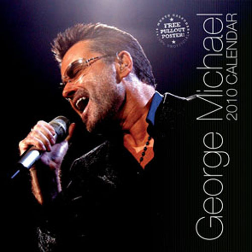 Calendrier 2010 George Michael
