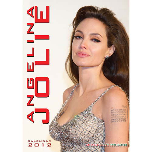 Calendrier 2012 Angelina Jolie