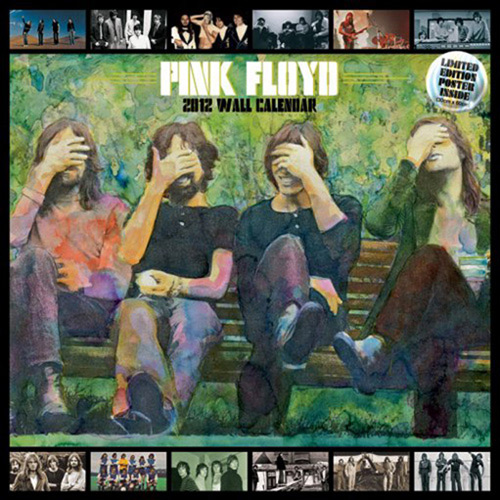 Calendrier 2012 Pink Floyd