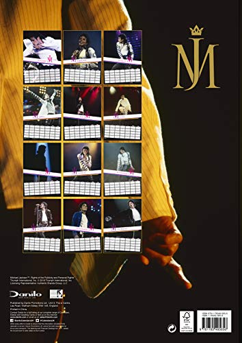 Calendrier Michael Jackson Official 2019 - A3 Wall Format