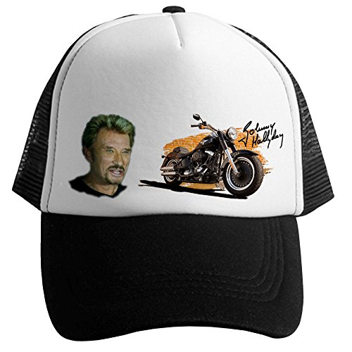 casquette johnny hallyday de marque fran aise blue naja boutique johnny hallyday. Black Bedroom Furniture Sets. Home Design Ideas