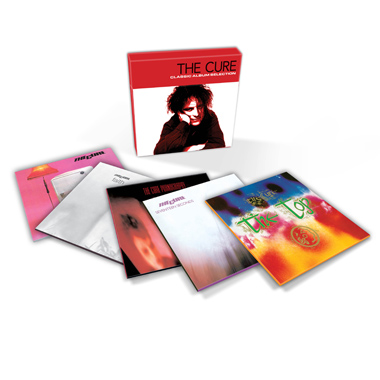Coffret 5 Cd The Cure Classic Album