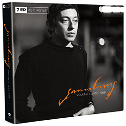 Coffret 7 Ep 1963 1968 Serge Gainsbourg