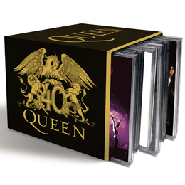 Coffret Collector 5 Cd Queen