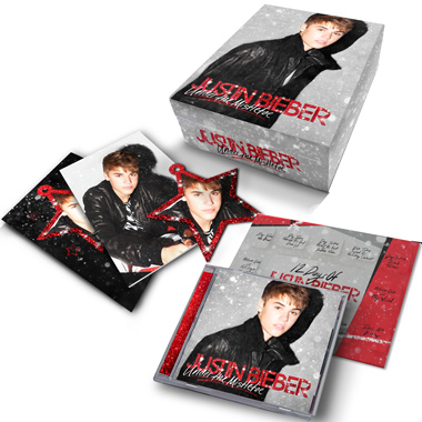 Coffret No L Justin Bieber Under The Mistletoe