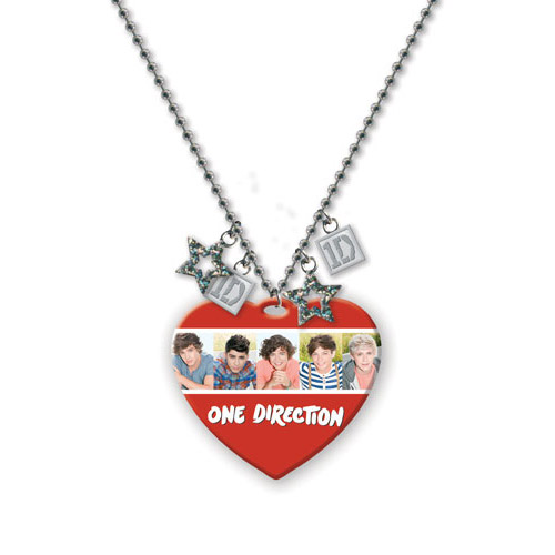 Collier Dog Tag One Direction Motif: Groupe 1d