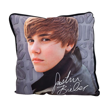 Coussin Justin Bieber Wall