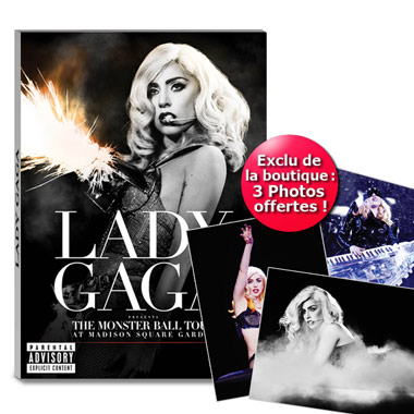 Dvd Lady Gaga The Monsterball Tour