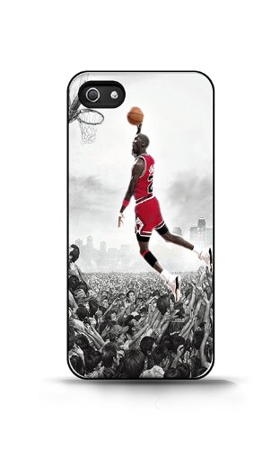 przyjazd informacje dla tani Joycase Coque Étui Housse De Protection Pour Apple Iphone 5/5s -michael  Jordan