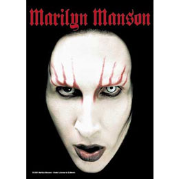 Le Drapeau Marilyn Manson Head Shot