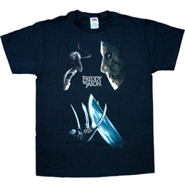 Le T Shirt Freddy Vs Jason Face Off