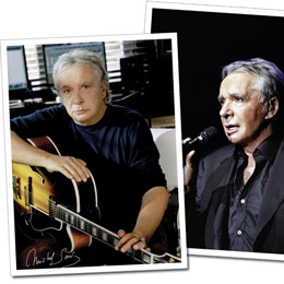 Lot De 2 Photos Hors Format Michel Sardou Tour 2007