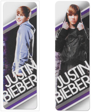 Marque Pages Justin Bieber