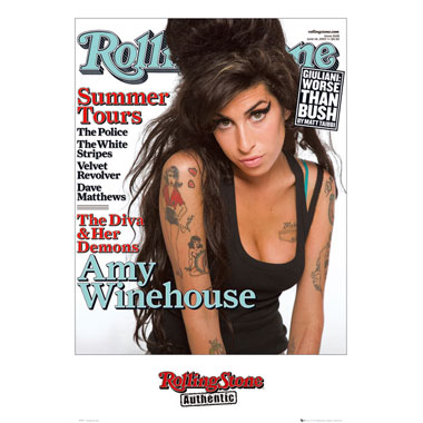Maxi Poster Amy Winehouse Rolling Stone Cover