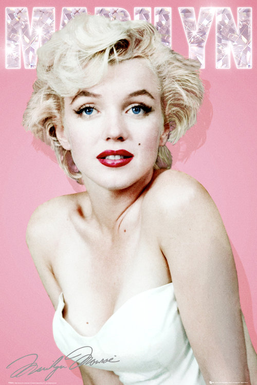 Maxi Poster Marilyn Monroe Diamond