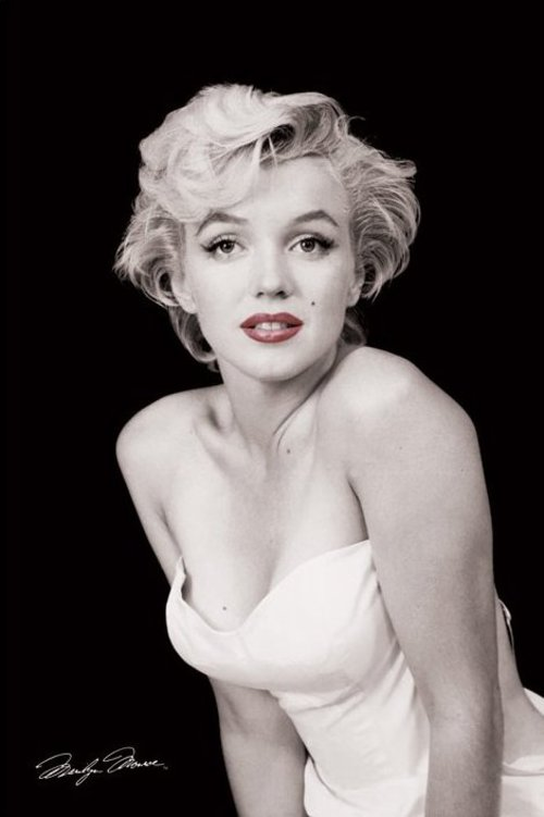Maxi Poster Marilyn Monroe Red Lips