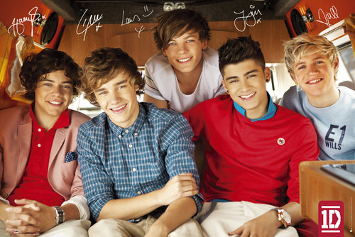 Maxi Poster One Direction Single Cover
