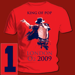 Michael Jackson King Of Pop Event T Shirt