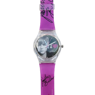 Montre Justin Bieber I Heart Purple