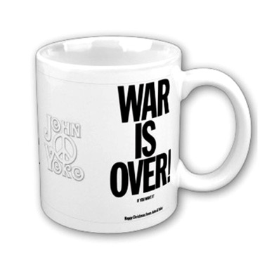 Mug War Is Over John Lennon