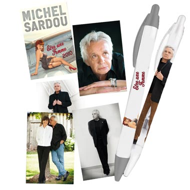 Pack Ecriture Michel Sardou 2011