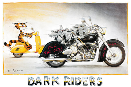 Poster Alex Dark Riders