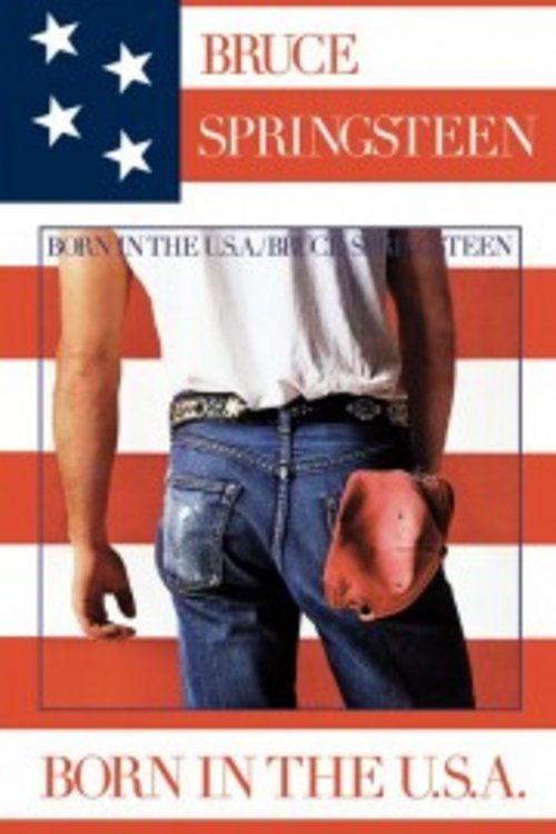 Poster Bruce Spingsteen Born In The Usa