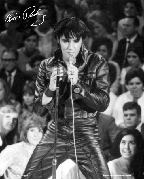 Poster Elvis 68 Special