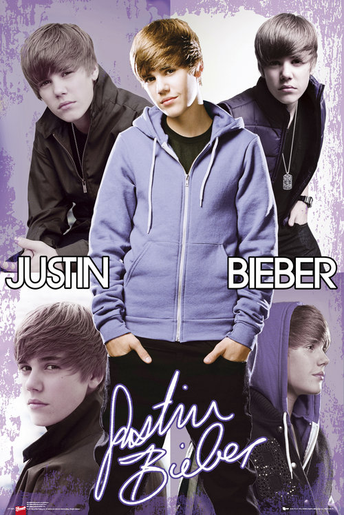 Poster Justin Bieber Collage