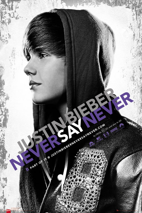 Poster Justin Bieber Never Say