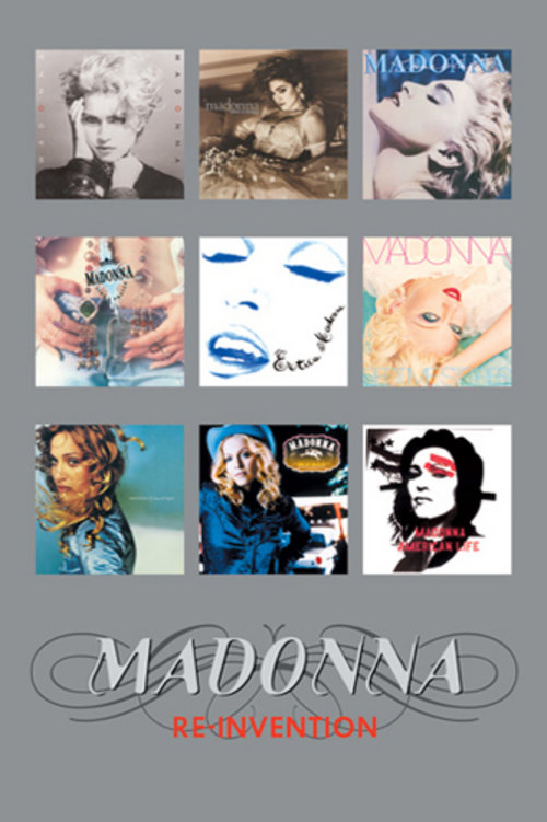 Poster Madonna Album Covers