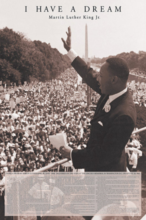 Poster Martin Luther King Jr