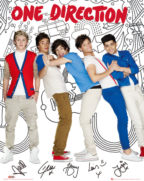 Poster One Direction 79527