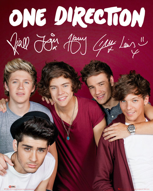 Poster One Direction 79535