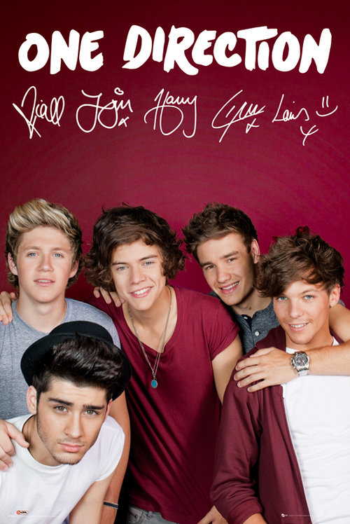 Poster One Direction 79536