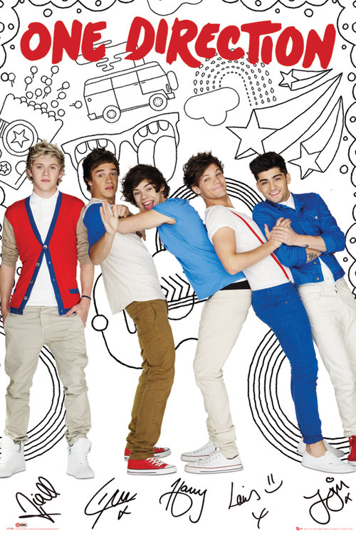 Poster One Direction 79549