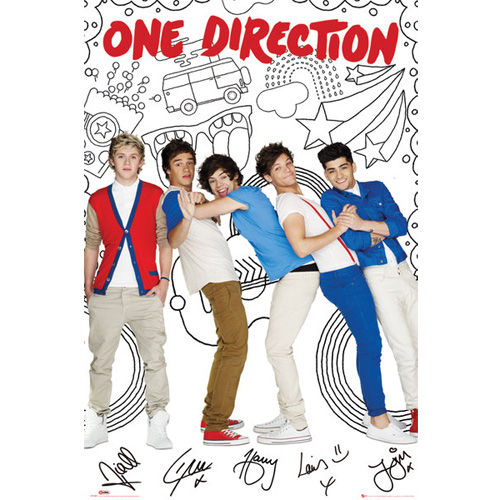 Poster One Direction 81020