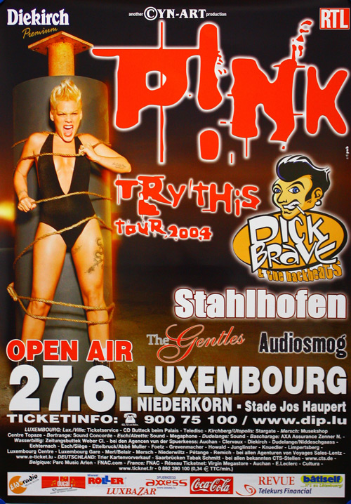 Poster Pink  73595
