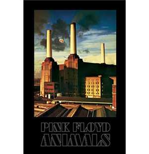 Poster Pink Floyd-animals-
