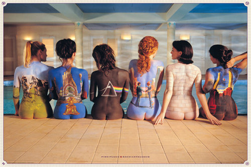Poster Pink Floyd Back Catalogue