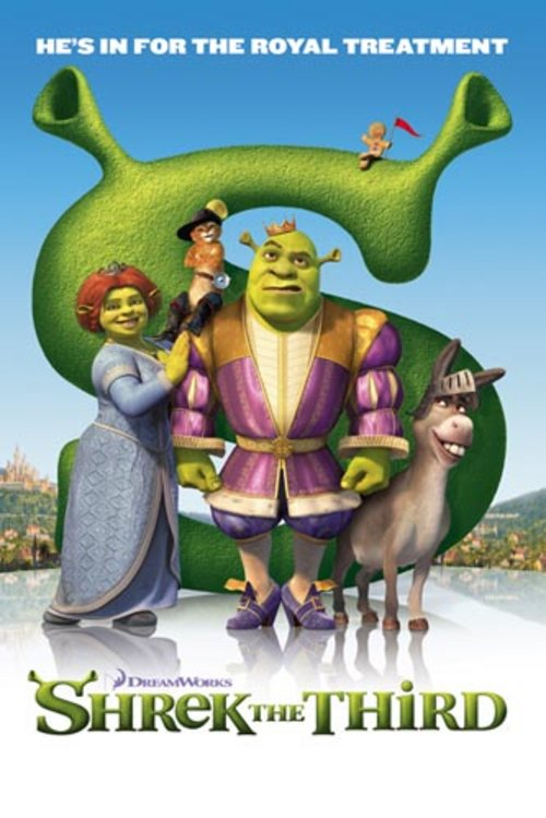 Poster Shrek 3 Royal Treatment