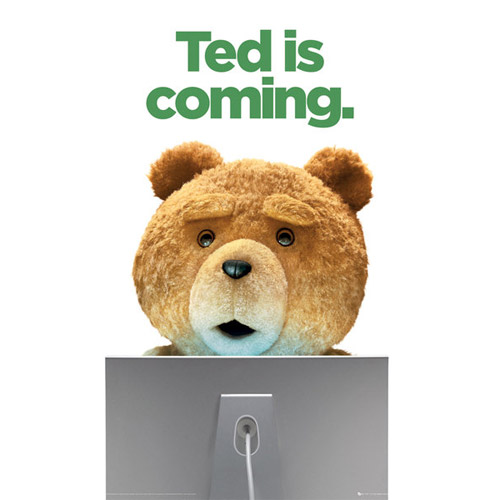 Poster Ted - Ted Is Coming