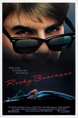 Risky Business - Tom Cruise ? Imported Movie Wall Poster Print ? 30cm X 43cm