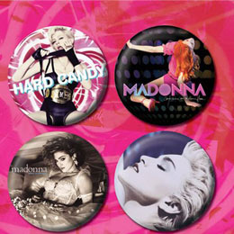 Set De Badges Madonna